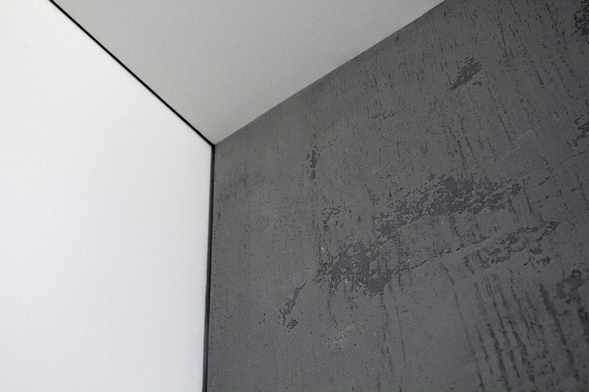 Interior Concrete Wall Detail With Reveal