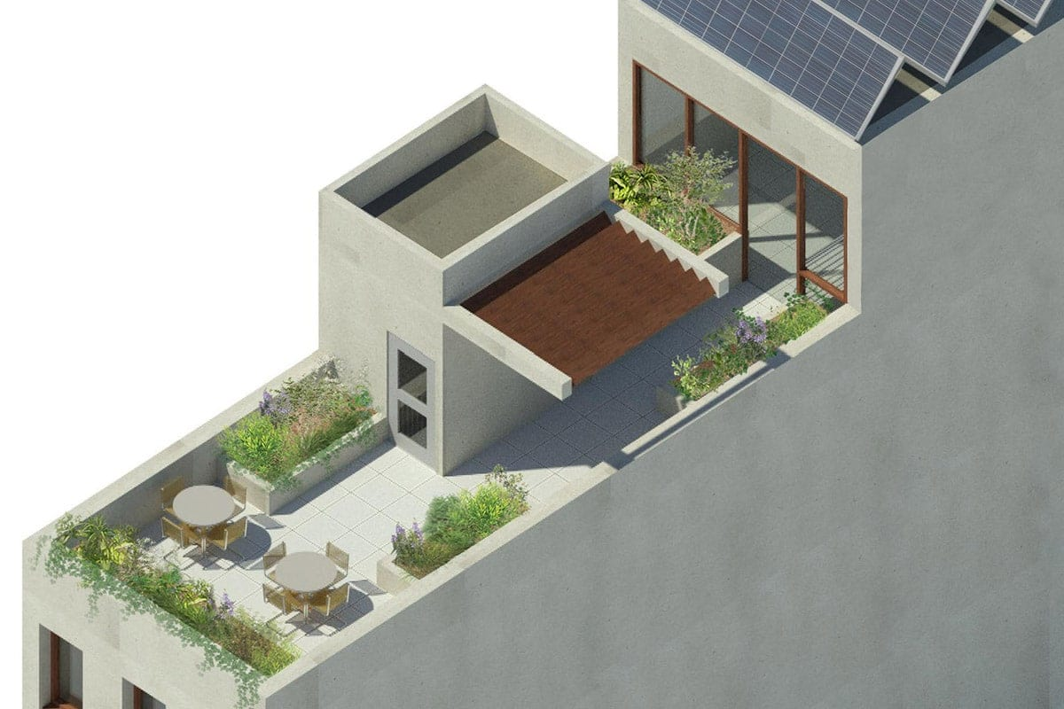 NYC Townhouse Roof Deck