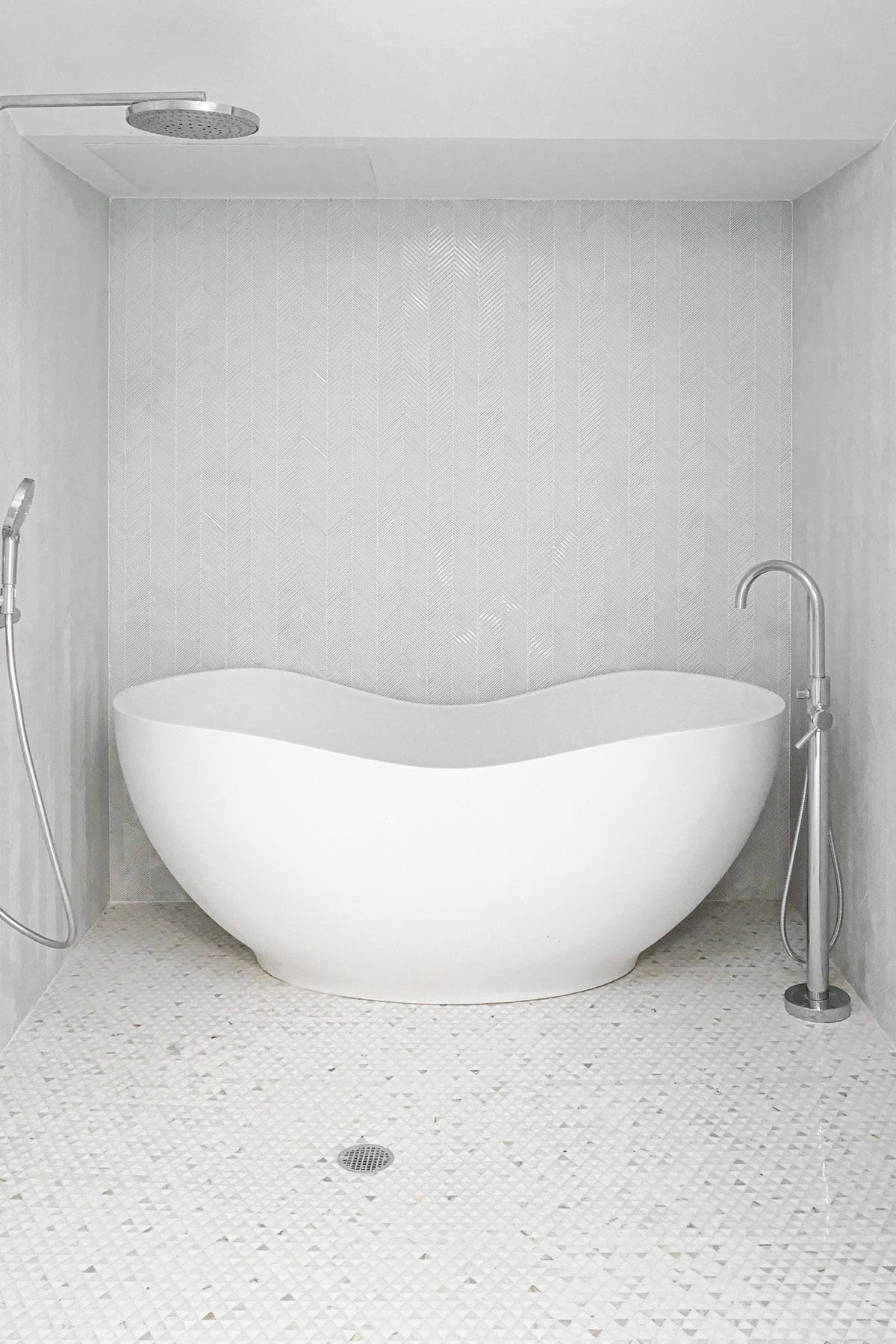 Tribeca Loft Bathroom Design Freestanding Tub